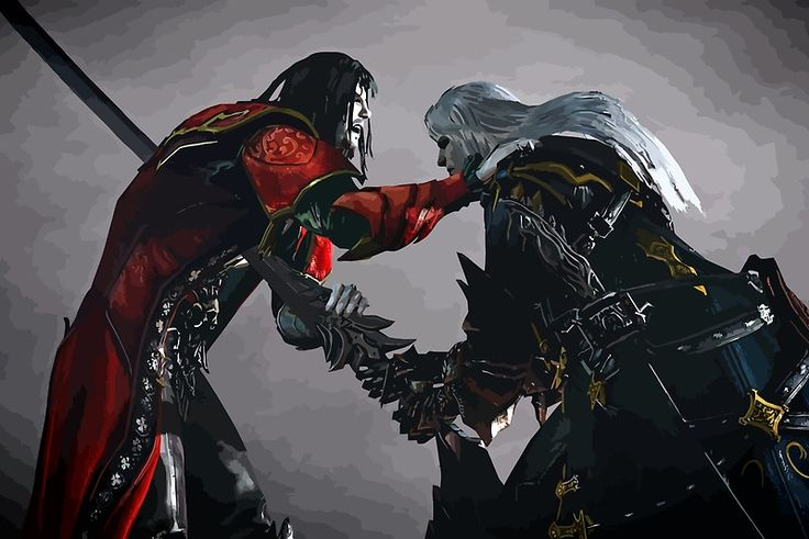 dracula vs alucard from castlevania lords of shadow 2