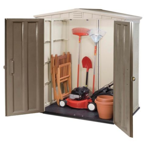 Tesco direct: Keter 6 x 3 Plastic Apex Shed