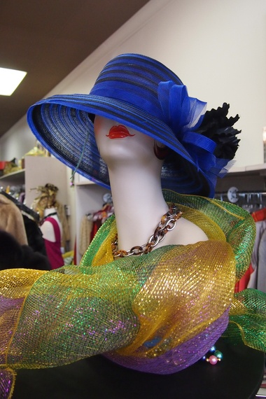"""""""The fun is in the accessories,"""" said Richard McGill Hamilton, manager of Plato's Closet on Airport Blvd."""
