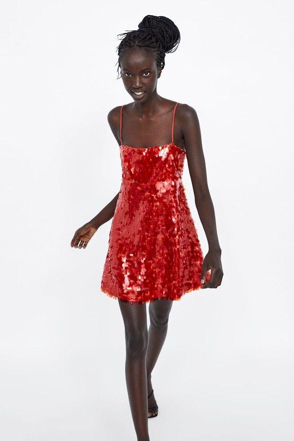 correr zapatos diseño novedoso Venta caliente genuino Vístete de Dorothy moderna con este vestido de lentejuelas ...