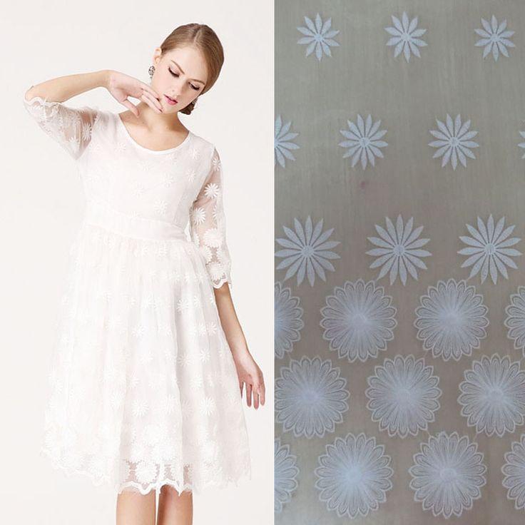Юбки цветы белый хлопок платье кружева юбка брюки отличительные знаки QBX017 юбки пояс ткани