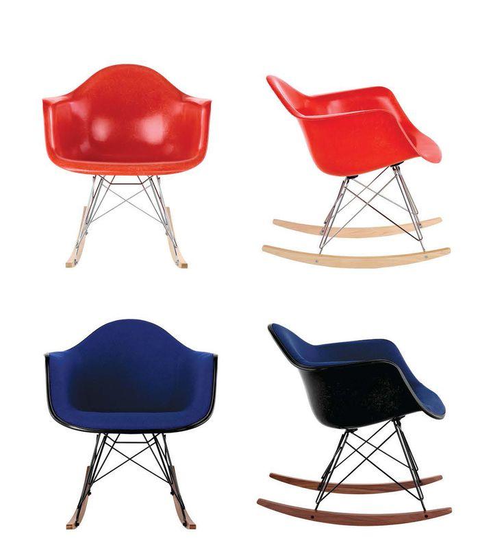 Authentic 2017 @hermanmiller fiberglass #Eames chairs