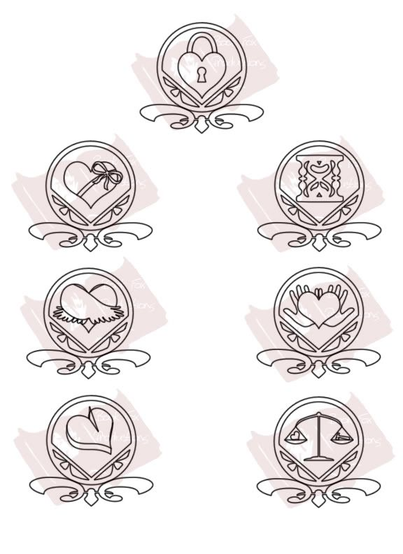 Seven heavenly virtues photo top chastity top left for Are tattoos a sin catholic