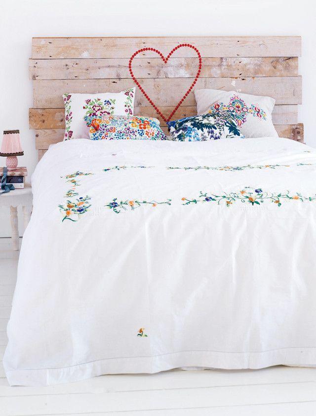 25 beste idee n over hoofdeinde op pinterest slaapkamer thema 39 s - Witte hoofdeinde ...