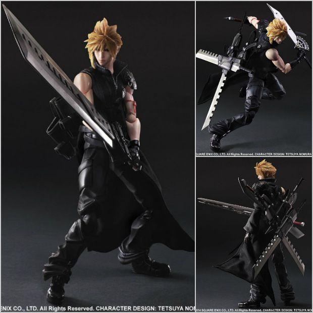 Final Fantasy 7 Action Figure Play Arts Kai Cloud Strife Collection Model Toy Figma Playarts Doll http://s.click.aliexpress.com/e/7q3vvba