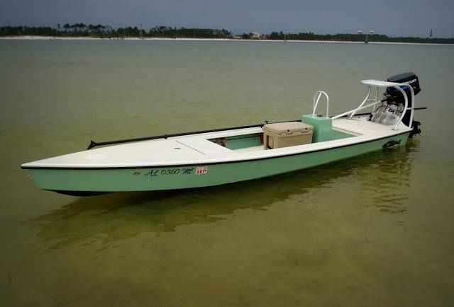 Flats stalker 18 18ft x ft hopeful draft of 4 5in for Flats fishing boats