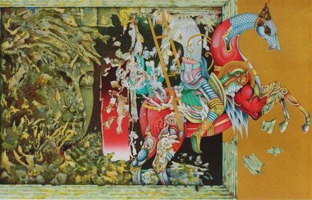 """Golden Ladder"", Panya Vijinthanasarn"