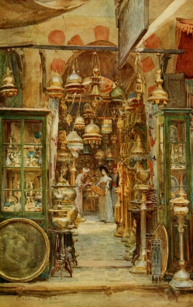 """""""The store of Nassan""""-Walter Tyndale, 1912"""