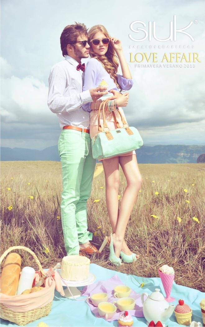 Campaign Love Affair, Primavera /Verano 2013.