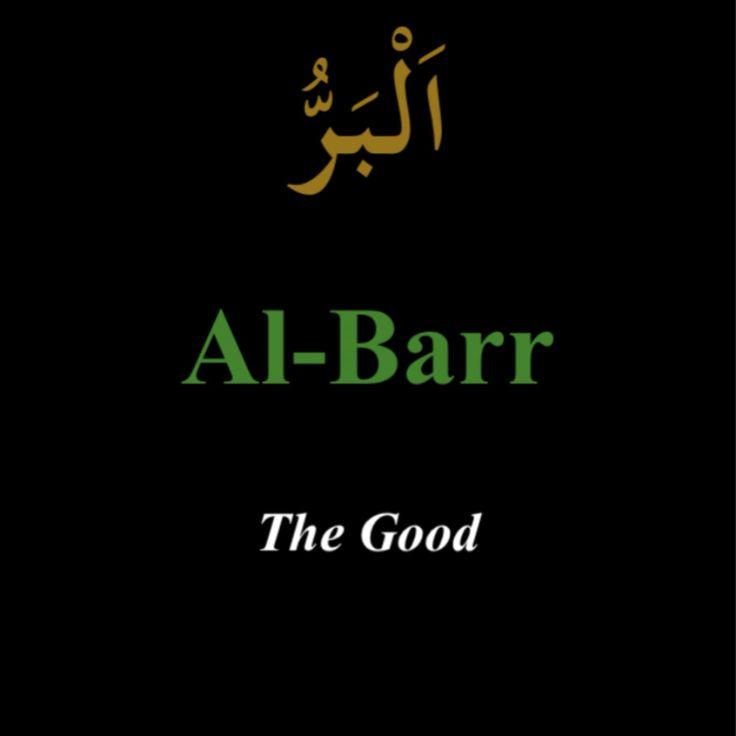 """""""Al-Barr"""""""