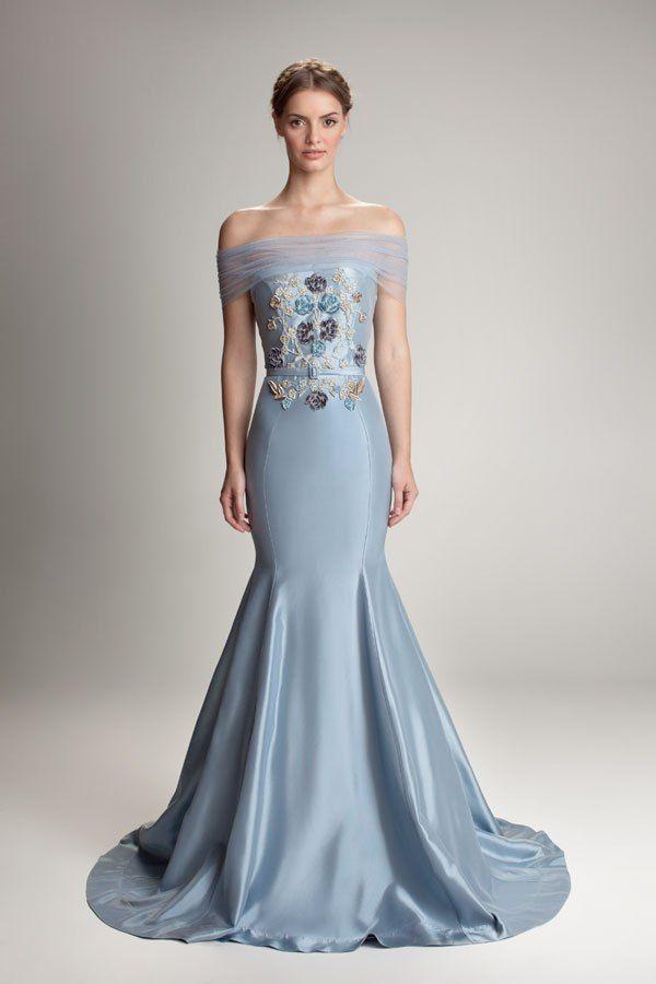 Hamda Al Fahim | http://boda20.com/2014/03/05/novias-de-azul/