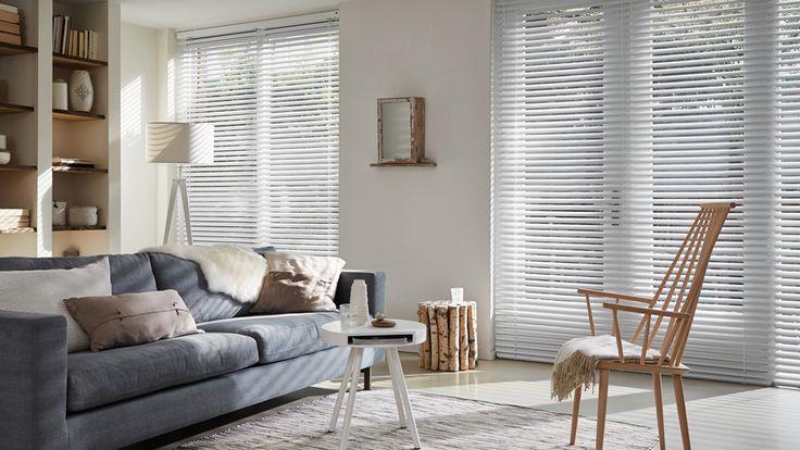 Laat u inspireren door Luxaflex® raamdecoratie. Horizontale Jaloezieën - 50 mm www.cdinterieurs.nl