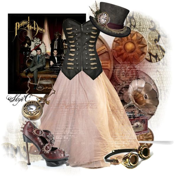 Panic at the Disco - Vices & Virtues by rubytyra on Polyvore