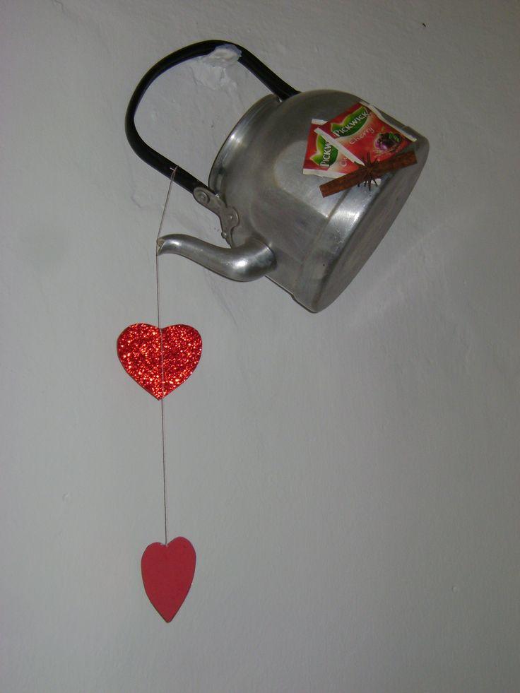 """kedvenc alkotás- a téli hónapokon mindig jól esik a szeretettel elkészülő """"tea"""" :)"""