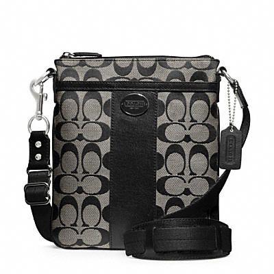 black coach purse outlet umun  Black Coach Crossbody Coach Bags OutletCoach