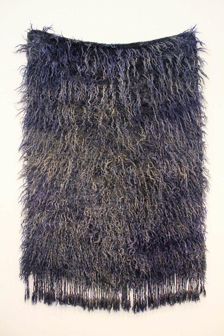Anonymous; Mohair and Goat Hair 'Filikli' Turkish Rug, c1960.