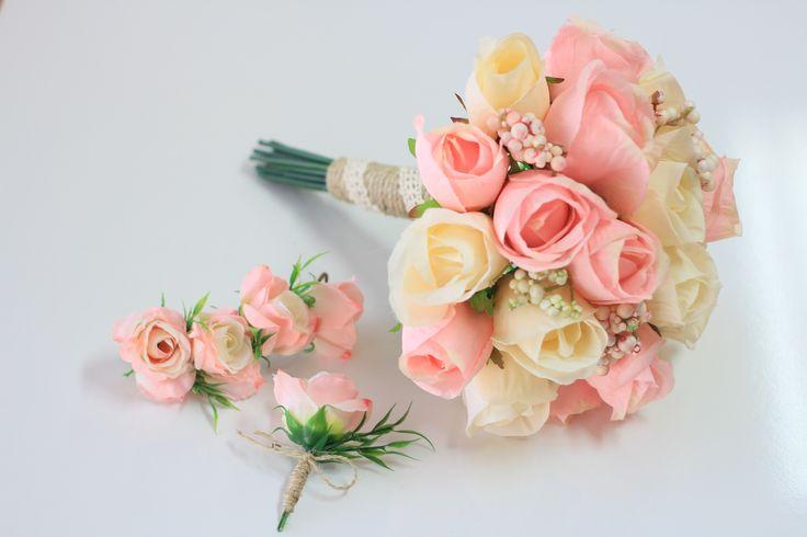 PEMBE KREM GELİN BUKETİ #düğün#gelin#gelinbuketi#gelincicegi#damat#love#nikah#nisan#wedding#istanbul