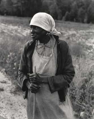 Dorothea Lange. Ex-Slave with Long Memory, Alabama. 1937