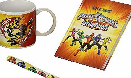 Power Rangers -pow0520-Notebook   Pen   320ml Mug-Gift Boxed No description (Barcode EAN = 3700791205208). http://www.comparestoreprices.co.uk/latest2/power-rangers-pow0520-notebook- -pen- -320ml-mug-gift-boxed.asp