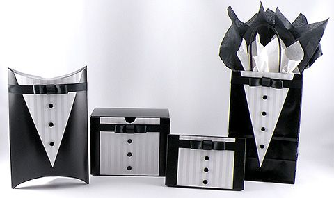 Post image for Black Tie Gift Designs – Creating a Tuxedo Look