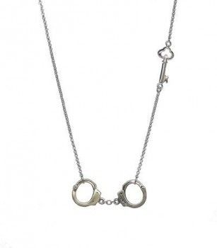 Daffodil Boutique - Solid Sterling Silver Handcuff Necklace (worn by Chloe on Don't Trust the B---- in Apartment 23)