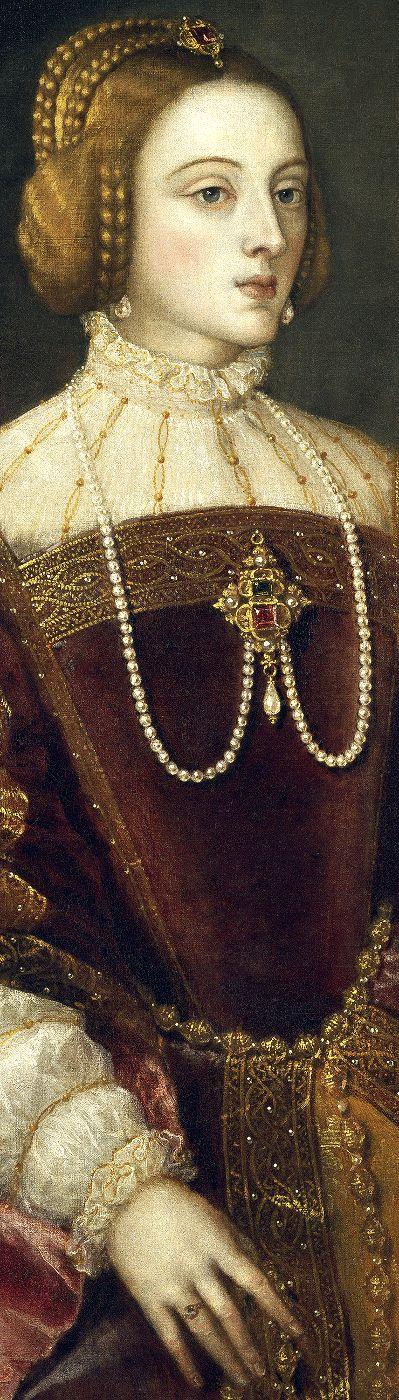 Emperatriz Isabel de Portugal y Aragón (1503-1539) - Tiziano Vecelli (1488- 576)