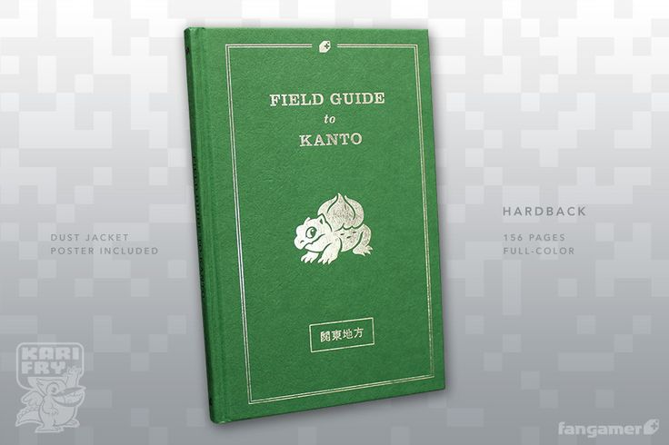 Prepare for a trip into the tall grass with the Field Guide to Kanto, which provides valuable information about the many odd and fascinating creatures inhabiting the Kanto region. Features include:158 full-color pagesColorful illustrations of all 151 creatures discovered during the 1998 surveyDescriptions of these creatures, including updated information discovered since the initial survey, such asElemental affinityHabitatBehaviorA full-color map of the Kanto region (also available as a ...