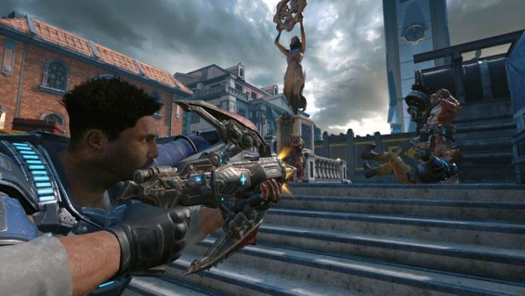 Gears of War 4 Xbox One Seems to be fantastic. #Playstation4 #PS4 #Sony #videogames #playstation #gamer #games #gaming