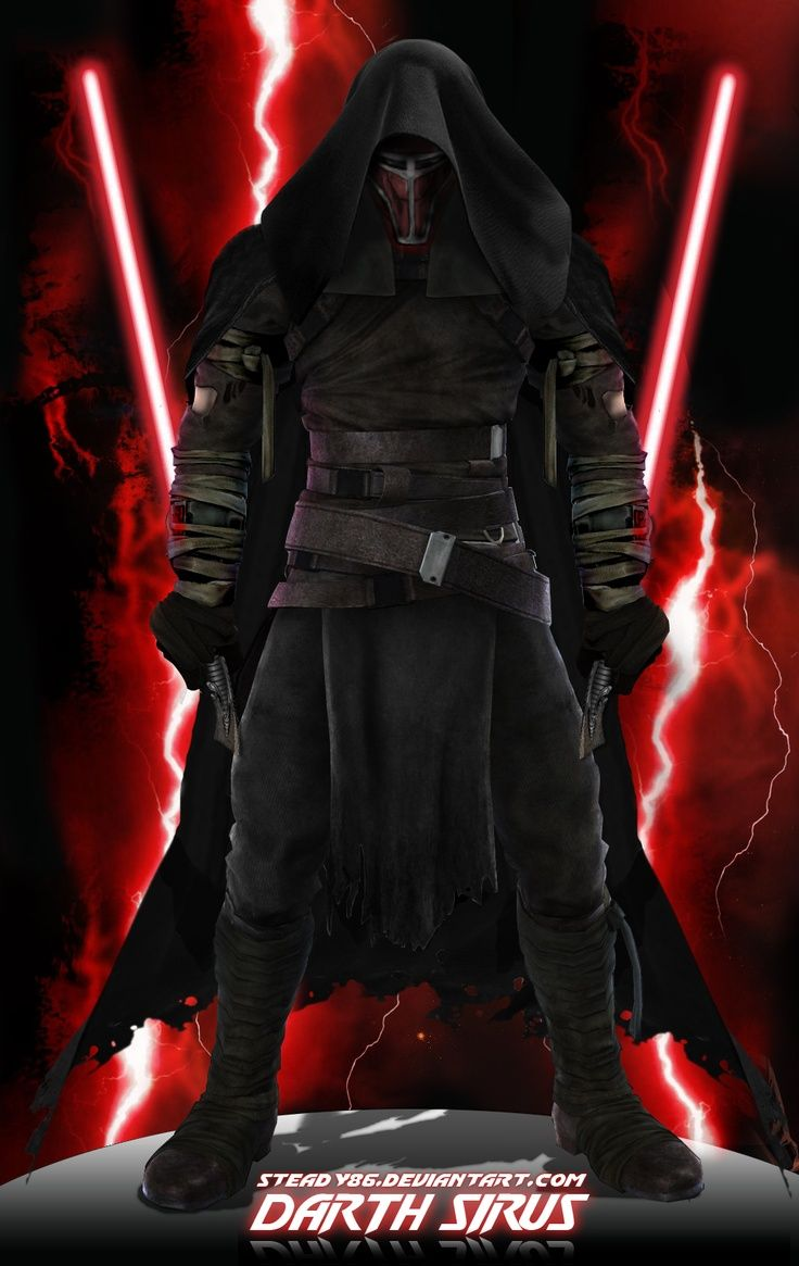 A nice rendition of a Sith warrior.