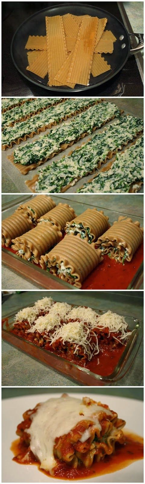Skinny Lasagna Rolls - everrecipes (this is the direct link to the recipe)