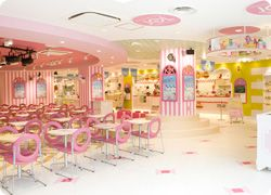Moekawa Cafe, maid cafe in a Harajuku food court モエカワ♥カフェ | モエカワ|アキハラプロジェクト[原宿・秋葉原・メイドカフェ]