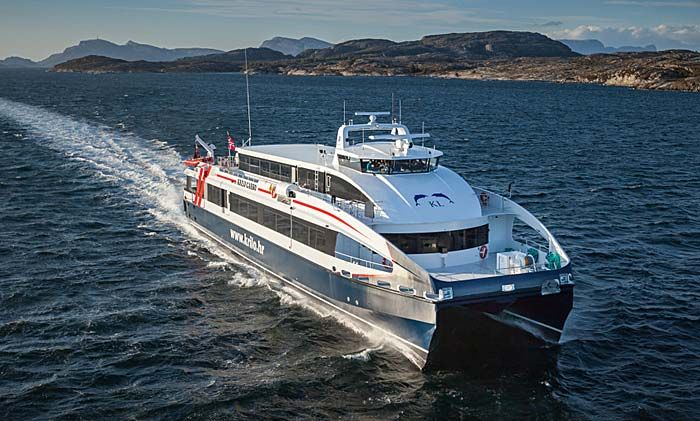 Timetable, Schedule and prices for fast daily ferry catamaran Split - Milna (Brac) - Hvar - Korcula - Mljet  - Dubrovnik; great Island Hopping ferry