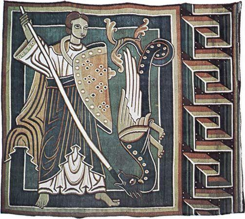 Halberstadt tapisserie 1165-1190