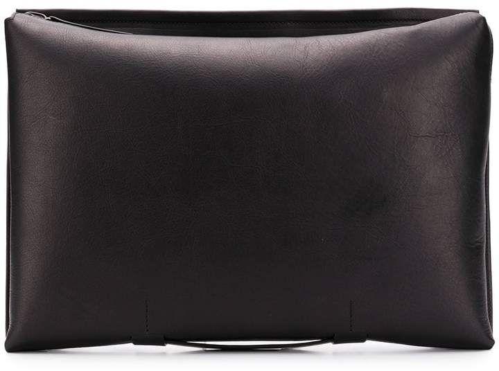 Troubadour zipped laptop pouch bag