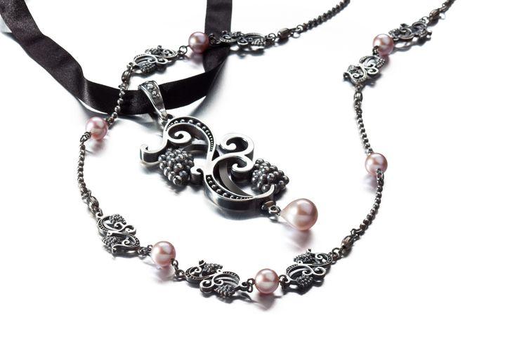 Carina Blomqvist, Eden pendant and necklace, http://www.carinablomqvist.fi/