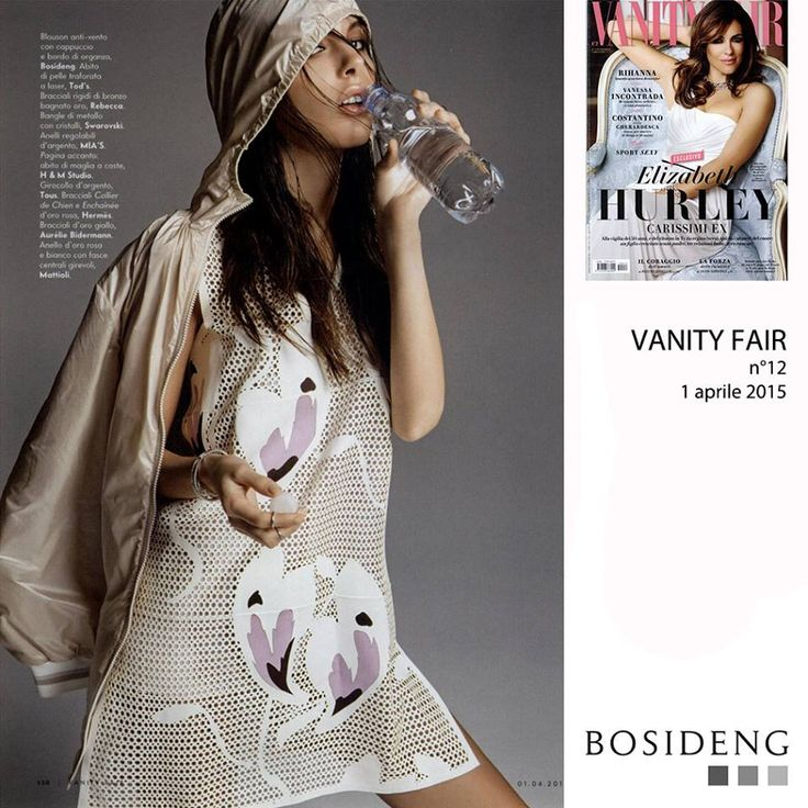 #Press // my female k-way complete the look on this beautiful #sportchic #editorial on Vanity Fair!