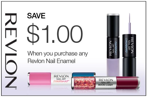 Revlon Canada Printable Coupons: Save $1.00 when You Purchase Any Revlon Nail Enamel