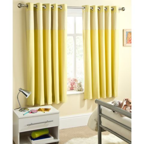 yellow curtains for living room. Enhanced Living Sweetheart Unlined Eyelet Yellow Trim Curtains  Next Day Delivery Best 25 curtains for the home ideas on Pinterest