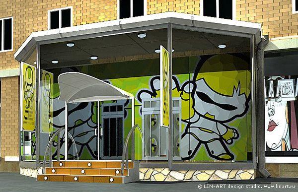 Дизайн фасада «Japan Evolution»