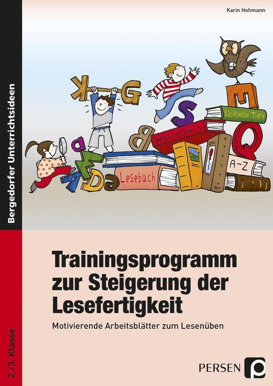 Trainingsprogamm Lesefertigkeit - Buch
