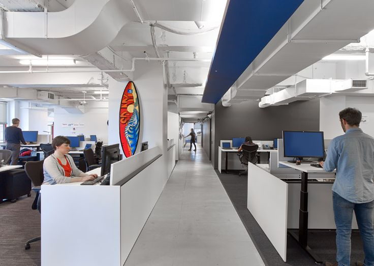 LinkedIns New York Offices By The Firm Interior Architects