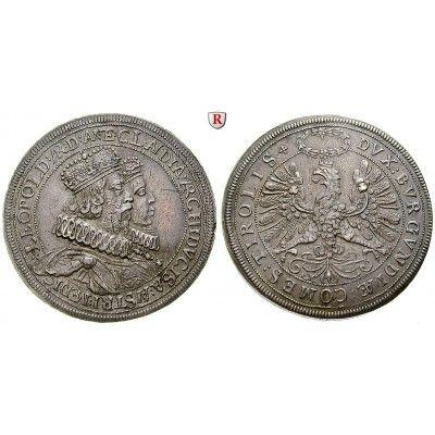 Römisch Deutsches Reich, Erzherzog Leopold V., Doppeltaler o.J. (1626), vz: Erzherzog Leopold V. 1619-1632. Doppeltaler o.J. (1626)… #coins