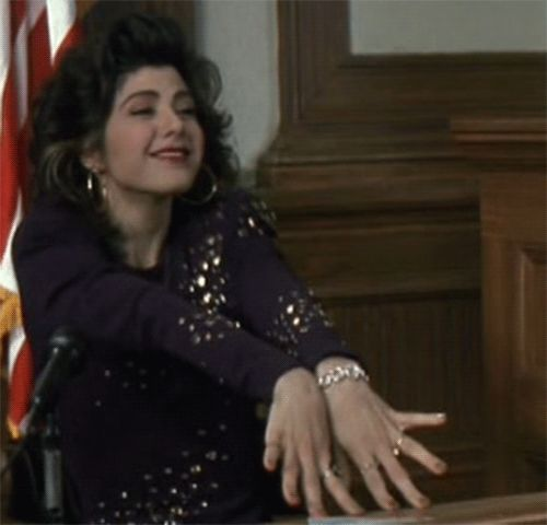 Marisa Tomei in My Cousin Vinny, I LOVE this movie!! did I say LOVE