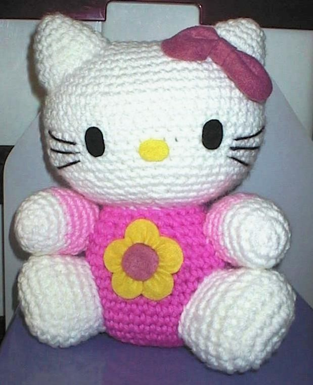 Hello Kitty.  (Hello - Julie!  How cute is this?)