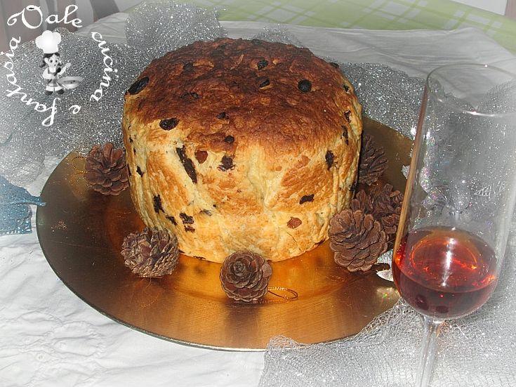 panettone fatto in casa con uvetta cioccolato vale cucina e fantasia