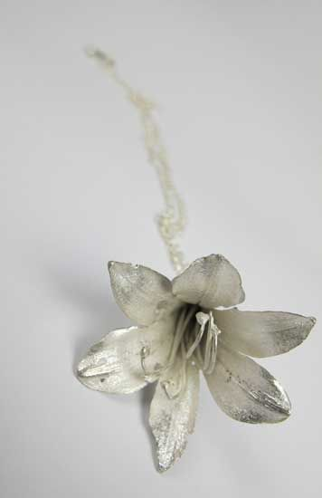 Nicbladen Botanicals.  Agapanthus africanus pendant.  Absolutely Beautiful!  So Talented.