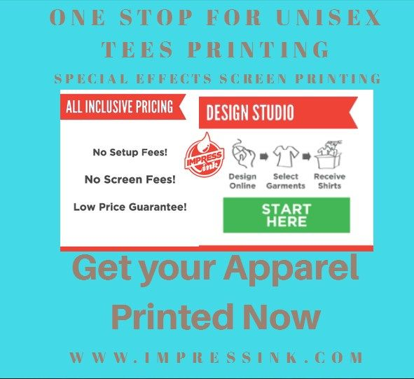 Impress Ink is one of the renowned platforms which is determined to provide the #t-shirt #printing and #embroidery #services.