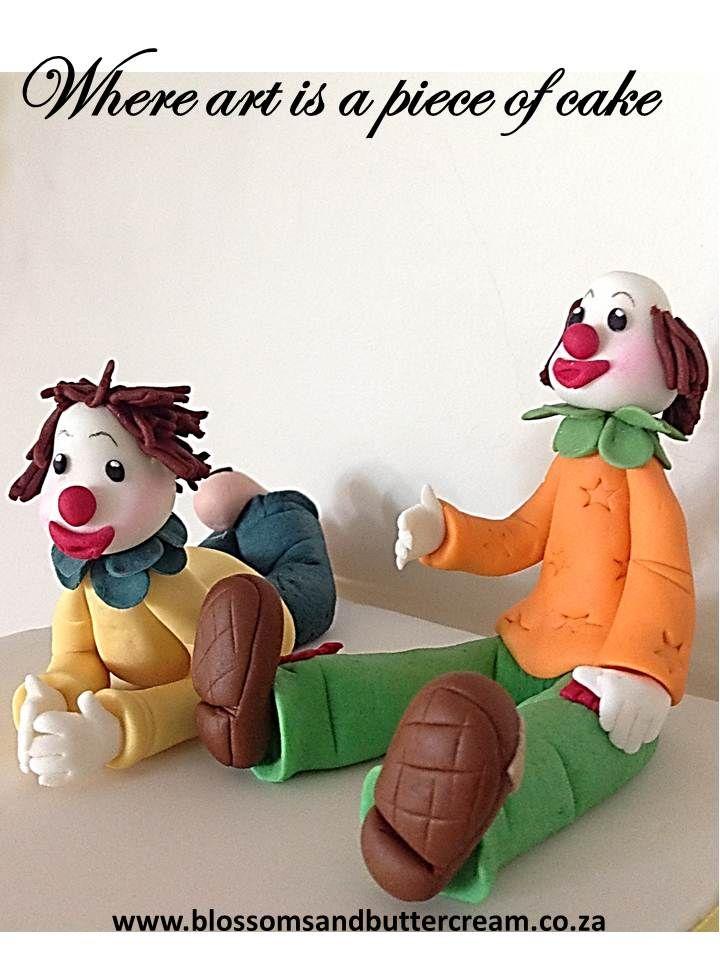Fondant Clowns