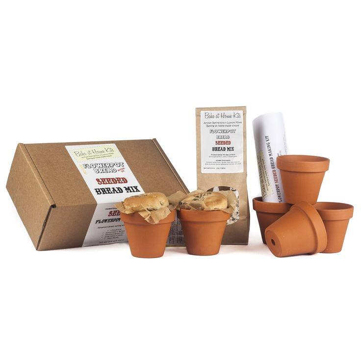 SEEDED FLOWERPOT BREAD Home Baking Kit