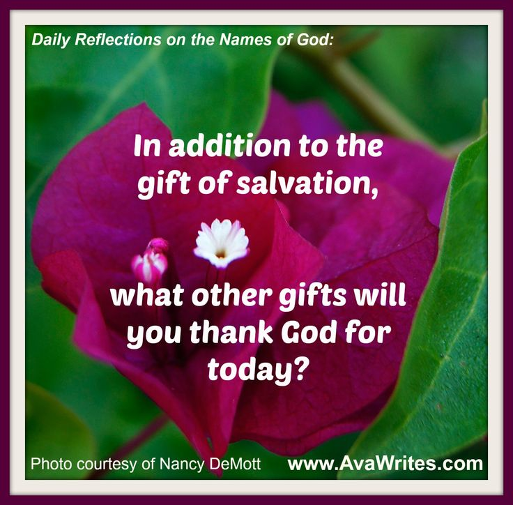 Thank You For Your Generous Gift Quotes: Our God Is Generous! In Addition To The Gift Of Salvation